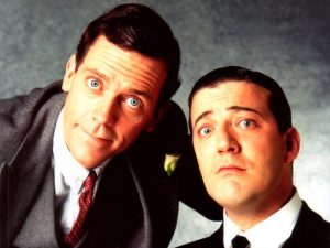 Favorite Comedy: the Jeeves and Wooster series by P. G. Wodehouse